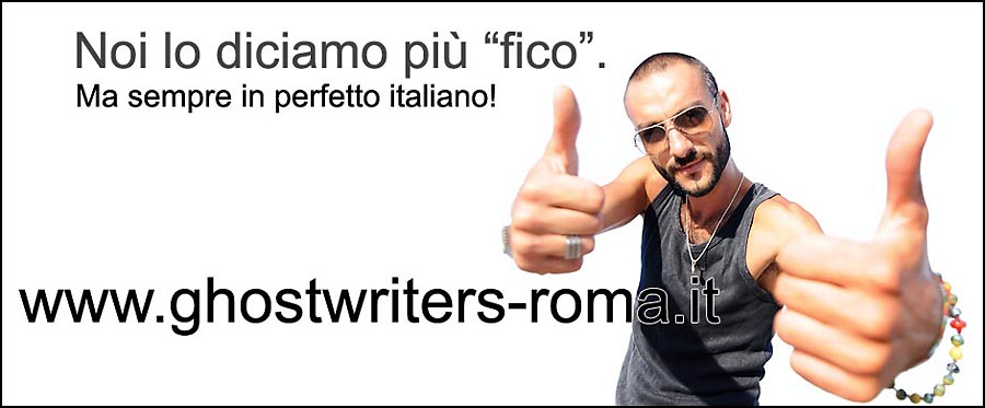 Il claim di Ghostwriters Roma